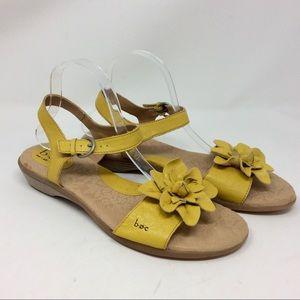 boc Born Concept Mustard Yellow Sandals Comfort